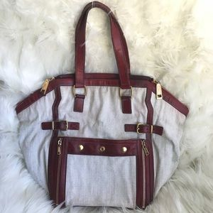 YSL Yves Saint Laurent Downtown tote